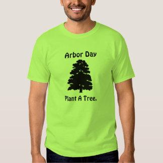 Día del árbol; Plante el árbol de A Playeras