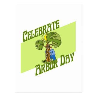 día del árbol postales
