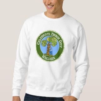 Día del árbol Wisconsin Sudadera Con Capucha