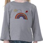 Día del arco iris camiseta