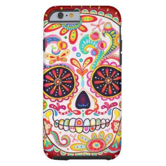 Día del arte muerto funda de iPhone 6 tough