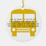 Día del asistente del autobús por el ornamento del ornamentos de reyes magos