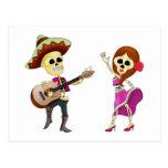 Día del baile del Mariachi de los pares muertos Postales