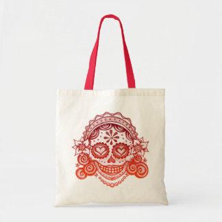 Día del bolso muerto bolsa lienzo