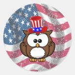 Día del búho de la independencia etiquetas