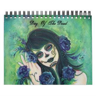 Día del calendario de los muertos 2013 por Renee