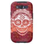 Día del caso muerto de señora Skull Samsung Galaxy Galaxy S3 Funda