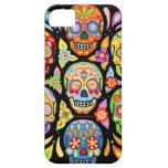 Día del caso muerto del iPhone 5 de los cráneos po iPhone 5 Funda
