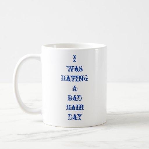 Día del champú taza