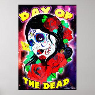 Día del chica muerto póster