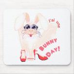 Día del conejito alfombrilla de ratones