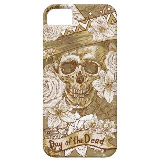 Día del cráneo muerto del azúcar iPhone 5 cárcasas