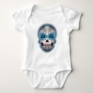 Día del cráneo muerto del azúcar mameluco de bebé