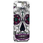 Día del cráneo muerto del azúcar - multicolor de S iPhone 5 Case-Mate Coberturas