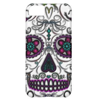 Día del cráneo muerto del azúcar - multicolor de S Funda Para iPhone 5C