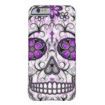 Día del cráneo muerto del azúcar - rosado y de la funda de iPhone 6 barely there