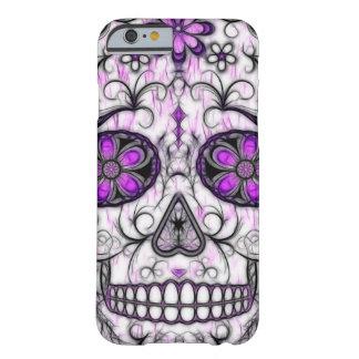 Día del cráneo muerto del azúcar - rosado y de la funda de iPhone 6 slim