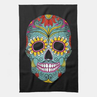 Día del cráneo muerto del azúcar toalla