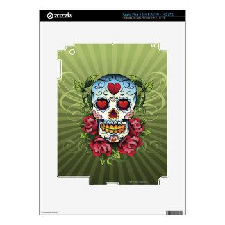 Día del cráneo muerto pegatinas skins para iPad 3
