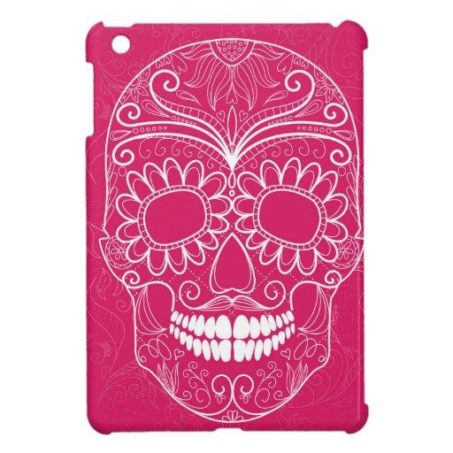 Día del cráneo rosado muerto