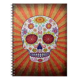 Día del cuaderno/del diario muertos del cráneo