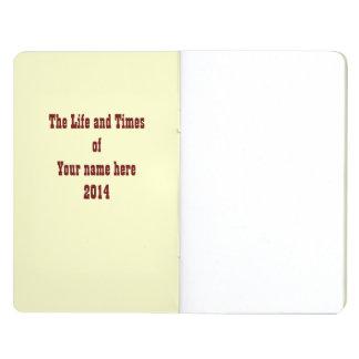 Día del diario muerto cuaderno grapado