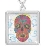 Día del diseño muerto del tatuaje del cráneo del a grimpolas