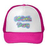 Día del efecto del arco iris 100o de camisetas de  gorras de camionero