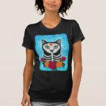 Día del gato muerto, camisa del arte del gato del