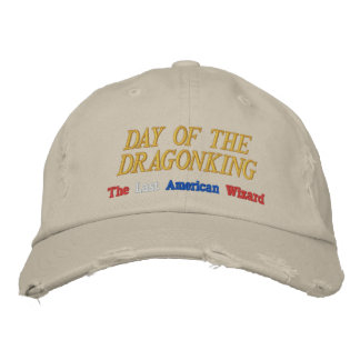 Día del gorra bordado Dragonking Gorra De Beisbol Bordada