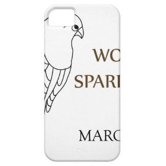 Día del gorrión del mundo 20 de marzo iPhone 5 carcasas