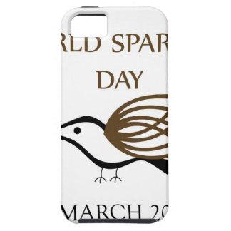 Día del gorrión del mundo 20 de marzo iPhone 5 funda