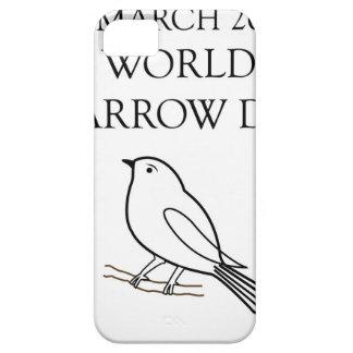 Día del gorrión del mundo 20 de marzo iPhone 5 fundas