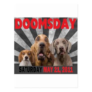 Día del juicio final - éxtasis 21 de mayo de 2011 postal