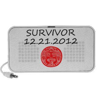 Día del juicio final maya 12 del superviviente 21  iPod altavoces
