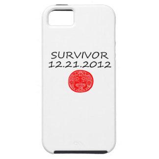 Día del juicio final maya 12 del superviviente 21 iPhone 5 Case-Mate cárcasa