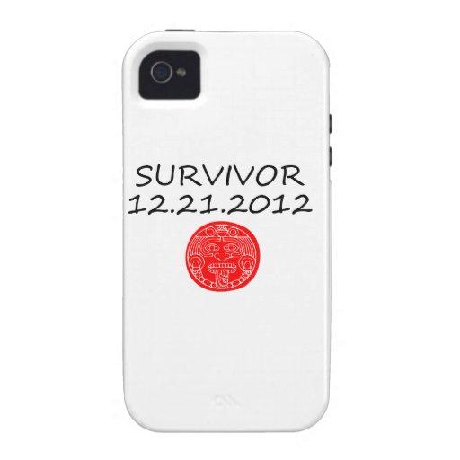 Día del juicio final maya 12 del superviviente 21 iPhone 4/4S carcasas