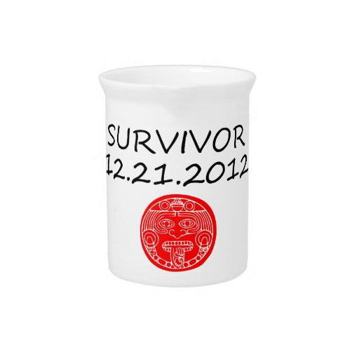 Día del juicio final maya 12 del superviviente 21  jarras para bebida