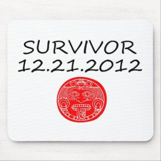 Día del juicio final maya 12 del superviviente 21  tapetes de raton