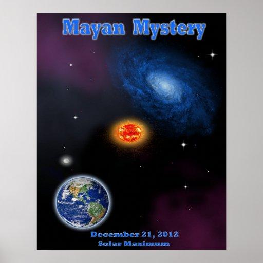 Día del juicio final maya poster