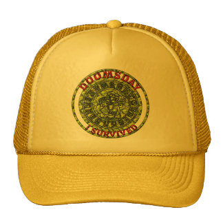 Día del juicio final - sobreviví profecía del maya gorras de camionero