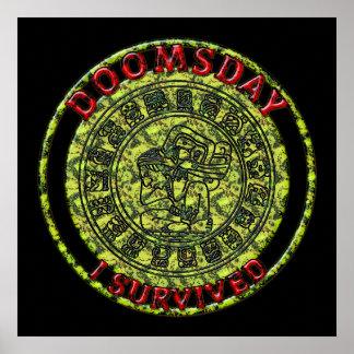 Día del juicio final - sobreviví profecía del maya impresiones