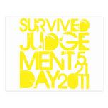 Día del Juicio Final sobrevivido 2011 Postales