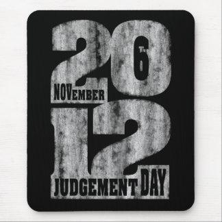 Día del Juicio Final Tapetes De Ratón