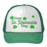 Día del KRW St Patrick feliz Gorras De Camionero