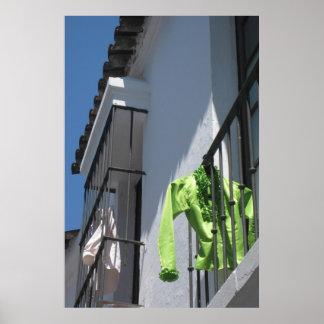 Día del lavadero en impresión II de Barcelona, Esp Posters