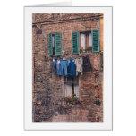 """""""Día del lavadero en tarjeta de felicitación fotog"""