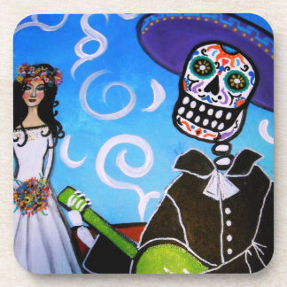 Día del Mariachi de los prácticos de costa muertos Posavasos De Bebidas
