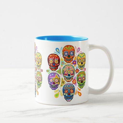 Día del muerto/del Dia de los Muertos Mug Taza