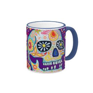 Día del muerto/del Dia de los Muertos Mug Taza De Café
